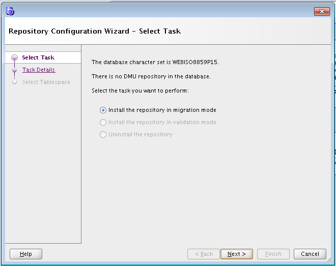 How to Migrate characterset of 12c database using Database Migration ...